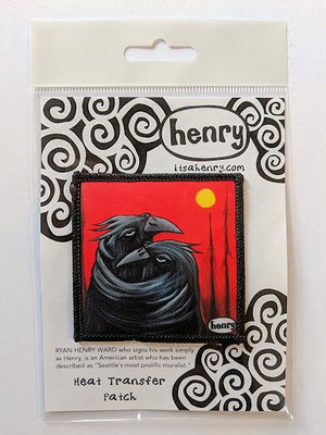 Crows Hugging Patch - Art of Henry