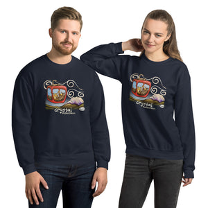 Gondola Fun at Crystal Mountain Unisex Sweatshirt