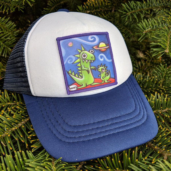 Toddler Dinosaur Jr Trucker Hat - Art of Henry