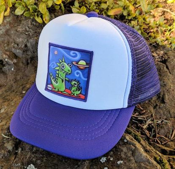 Dinosaur Jr. Little Henry Trucker Hat - Art of Henry