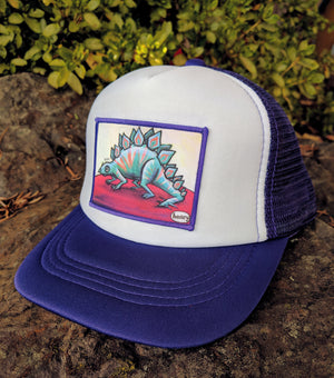 Henrystegosaurus Little Henry Trucker Hat - Art of Henry