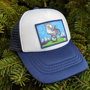 Toddler Goat Biking Trucker Hat - Art of Henry