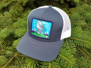 Goat Biking Trucker Hat - Art of Henry