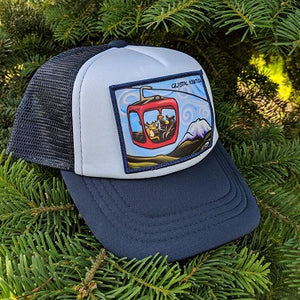 Gondola Fun - Crystal Mountain Little Henry Trucker Hat - Art of Henry