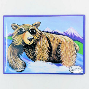Grizzly Fishing Magnet - Art of Henry