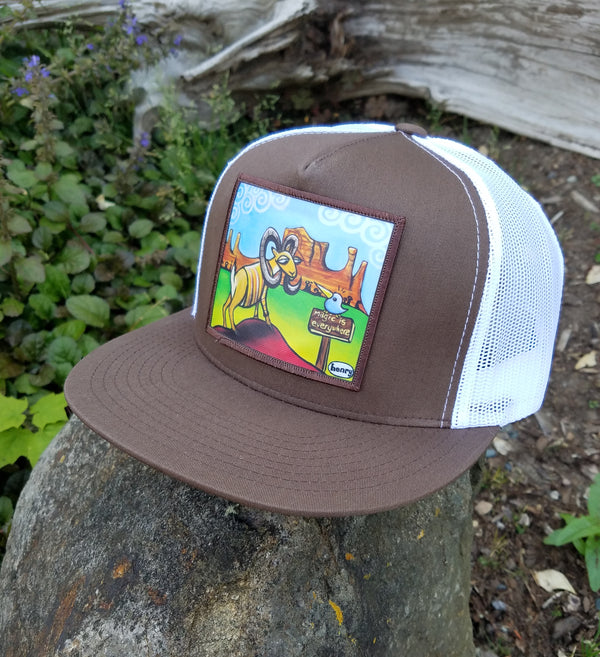 Magic is Everywhere Flat Bill Trucker Hat - Art of Henry