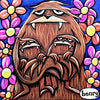 Momma Sasquatch Canvas Print - Art of Henry