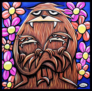 Momma Sasquatch Sticker