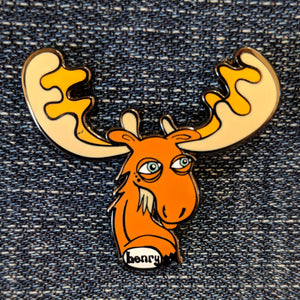 Moose Enamel Pin - Art of Henry
