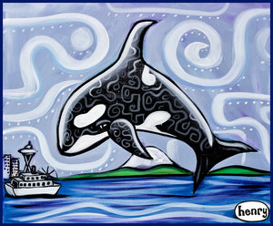 Orca Seattle - Art of Henry