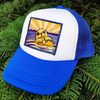 Otter with Clam Wearable Art Little Henry Trucker Hat