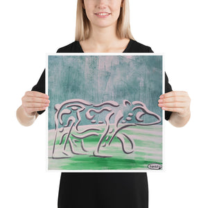 Polar Bear Vanishing - Henry Print - Art of Henry