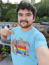 Pride Unisex T-Shirt | Wearable Art by Seattle Mural Artist Ryan