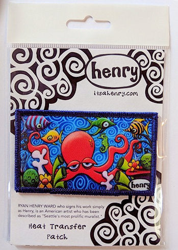 Quadrapus and Friends Patch - Art of Henry