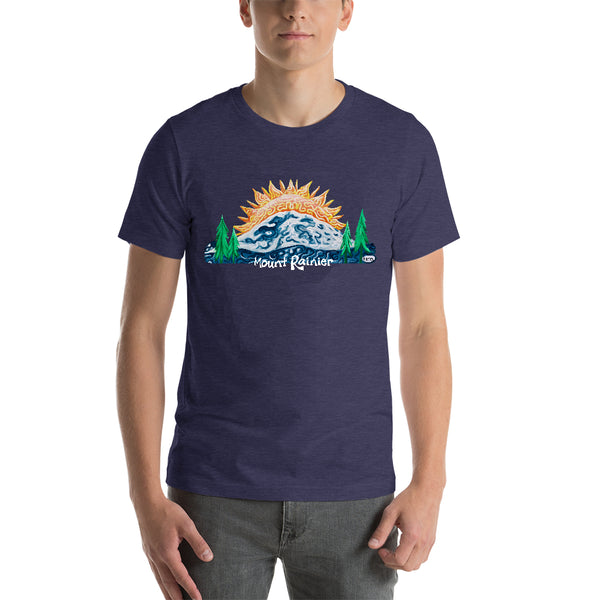 Mount Rainier Sunrise Unisex T-Shirt