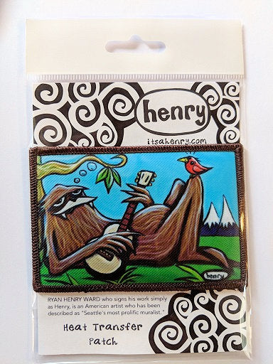 Sasquatch Chilling Patch - Art of Henry