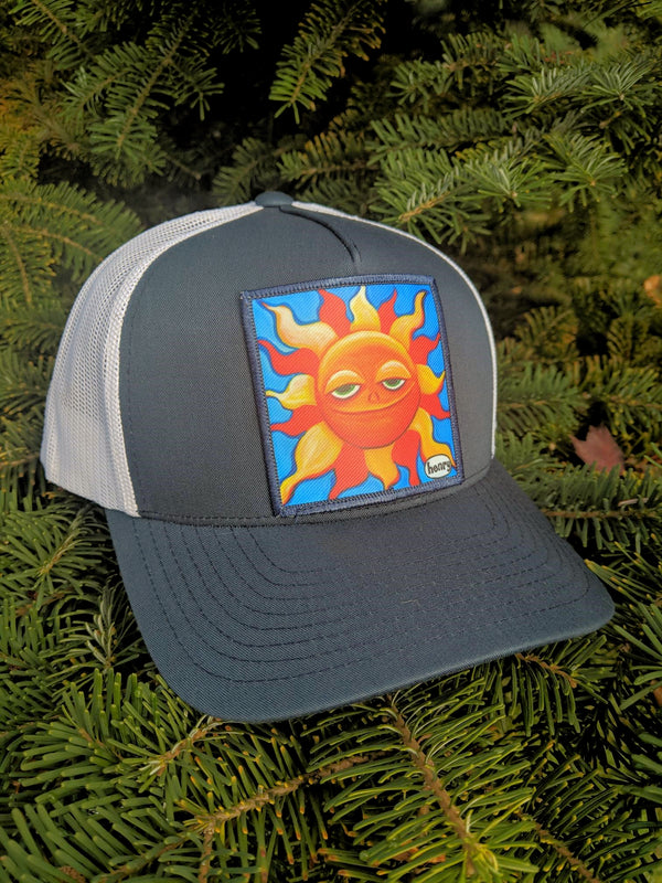Smiling Sun Trucker Hat - Art of Henry