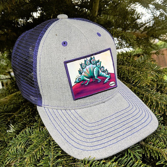 Stegohenrysaurus Trucker Hat - Art of Henry