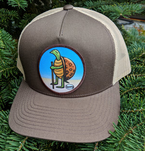Turtle Hiking Trucker Hat