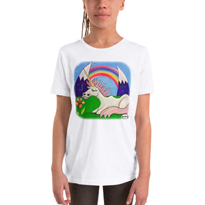 Unicorn Under the Rainbow Youth T-Shirt