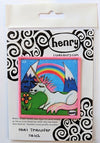 Unicorn under the Rainbow Patch - Art of Henry
