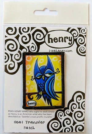 Winky Owl Patch - Art of Henry