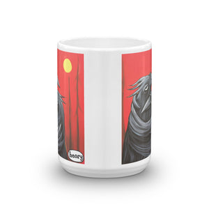 Raven Hug Mug - featuring the original art of Henry - Art of Henry