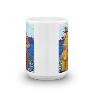 A Big Bear Hug Mug - featuring the original art of Henry - Art of Henry