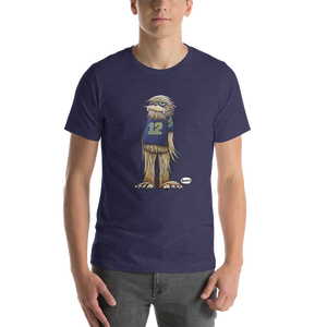 Sasquatch in his #12 Shirt Unisex T-Shirt - Art of Henry