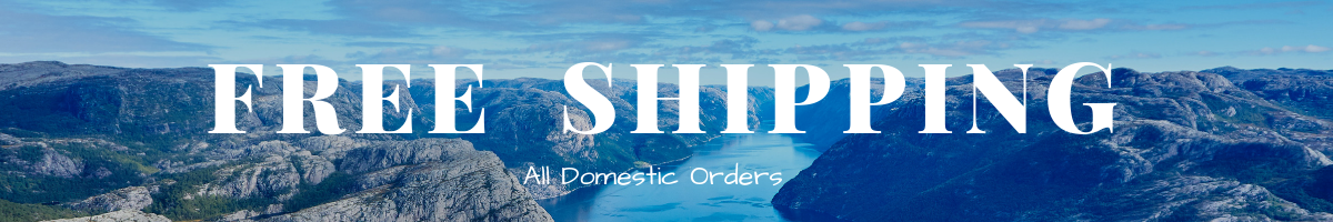Free Shipping All Domestic Orders