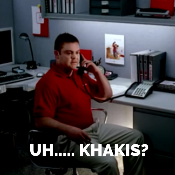 Jake From State Farm Uh...Khakis Meme
