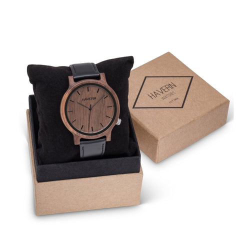 The Leo Wooden Watch
