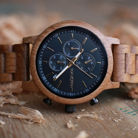 The Orion White Oak Wooden Watch For Him