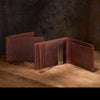 Men's Leather Wallet + Clip