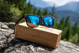 Brooks Walnut Polarized Wooden Sunglasses Sunglasses HAVERN Watches
