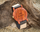 Rexford Sandalwood | Wooden Watch Leather Band Watches HAVERN Watches
