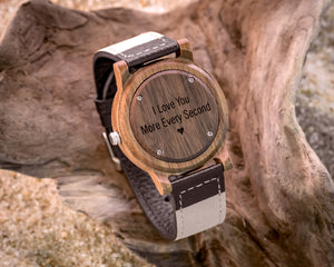 Rexford Walnut | Wooden Watch Leather Band Watches HAVERN Watches