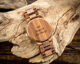 The Beck | Wooden Watch Wooden Band Watches HAVERN Watches
