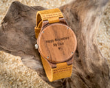 The Chase | Wooden Watch Leather Band Watches HAVERN Watches