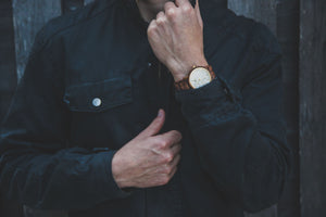 The Chiseled Koa | Marble + Wooden Watch Wooden Band Watches HAVERN Watches