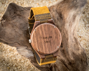 The Clark Walnut | Set of 5 Groomsmen Wood Watches Groomsmen Watches HAVERN Watches
