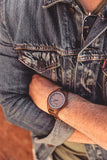 The Clark Walnut | Wooden Watch Leather Band Watches HAVERN Watches
