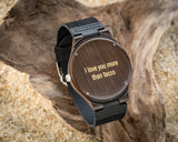 The Clark | Wooden Watch Leather Band Watches HAVERN Watches