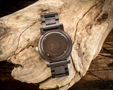The Curtis Ebony | Set of 7 Groomsmen Wood Watches Groomsmen Watches HAVERN Watches