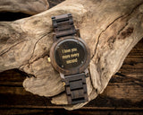 The Curtis Gold | Wooden Watch Wooden Band Watches HAVERN Watches