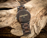 The Douglas | Wooden Watch Wooden Band Watches HAVERN Watches
