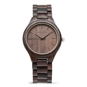 The Howard | Set of 7 Groomsmen Wood Watches Groomsmen Watches HAVERN Watches