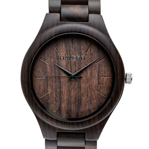 The Howard | Wooden Watch Wooden Band Watches HAVERN Watches