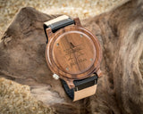 The Leo | Set of 10 Groomsmen Wood Watches Groomsmen Watches HAVERN Watches