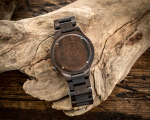 The Minimalist Ebony | Wooden Watch Wooden Band Watches HAVERN Watches